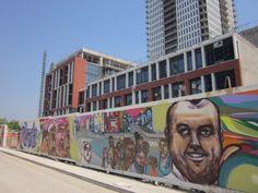 Wall by Elicser, public art, Regent Park