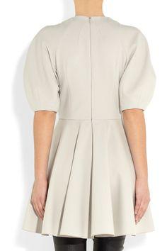 ALEXANDER MCQUEEN Stretch wool-blend dress