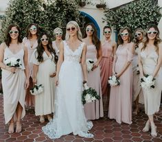 "A wise girl (nicolerichie) once said ""every girl should have a group of girlfriends, like Destiny's Child."" & Tag your bridesmaids! Navy Bridesmaid Gowns, Bridesmaids, Wise Girl, Wedding Groom, Wedding Reception, Wedding Trends, Wedding Ideas, Bridal Style, Dream Wedding"