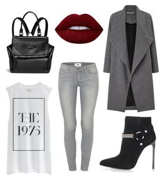 """""""tunes"""" by kaye-viecelli on Polyvore featuring Yves Saint Laurent, Paige Denim, Miss Selfridge, Givenchy and Lime Crime"""
