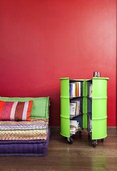 Barrel 12 transforme des matériaux mis au rebut en meubles e…