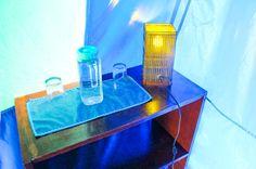 Water jar on tent Las Caletas Lodge Caletas Beach, Osa Peninsula Costa Rica #vacation #family #nature #cool