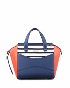 In love with this colorblocked Kate Spade bag!