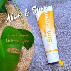 When choosing sunscreen:  make sure it protects you from both UVA and UVB rays. #UVArays can cause premature aging, wrinkles and pigment changes.👵 #UVBrays, in turn, are the ones that may burn your skin.🥵 Our top choice? #AloeSunscreen ! This creamy lotion protects your skin from both of those - while keeping your skin soft and moisturized. Apply gently a small amount, for the face as much as a pea.🔸Plus, it's #waterresistant!!🔸With #aloevera and #vitamineE .#joinmevt #skincare 🌞🧡💦 Aloe Sunscreen, Forever Living Business, Uva Rays, Forever Living Products, Red Bull, Aloe Vera, Your Skin, Health And Wellness, Lotion