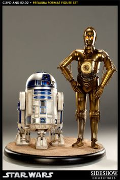 C-3PO and R2-D2 Premium Format Figure - Sideshow Collectibles - SideshowCollectibles.com