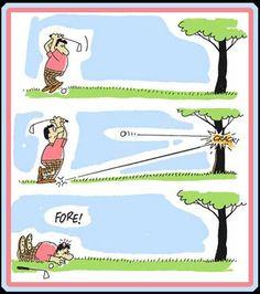 Cartoon Comic #GolfJokes Humor Jokes Golf | re-pinned by http://www.countryclubsinflorida.com