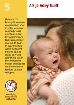 Borstvoeding, VBN, brochure, als je baby huilt. Te bestellen op: www.borstvoedingnatuurlijk.nl