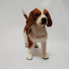 #羊毛フェルト #ハンドメイド #手芸 #犬#handmade #woolfelt #woolfelting #felting #needlefelt #needlefelted #needlefelting #feltart #dog#doglover#cute #dogstagram #ビーグル#beagle