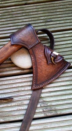 leather Axe sheath