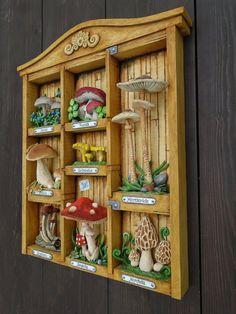 Woodcarving- Houbář od Tomáš Hejhal (Hejkalíci) Woodcarving, Holiday Decor, Home Decor, Decoration Home, Room Decor, Wood Carvings, Wood Sculpture, Wood Carving, Home Interior Design