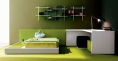Dormitorio estilo minimalista