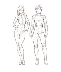 Jerome Okutho's insight: This reference guide is for anyone who wants a quick way to learn about the proportions of the female and male anatomy. The guide breaks down the complex anatomy into simple shapes you can use for sketches and other drawing projects.