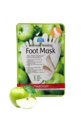 http://najafi.ae/bath-body/personal-care/hands-foot/intensive-healing-foot-mask.html  Intensive Healing Foot Mask With Highly Emollient Shea Butter, Apple, Peppermint And Other Natural Healing Ingredients, Purederm Botanical Choice Intensive Healing Foot Mask Noticeably Smoothes, Softens And Repairs Dry, Cracked, Calloused Feet And Heels,  #purederm #najafi #najaficosmetics #puredermfootmask