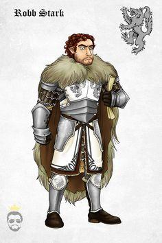 Robb Stark by ~Felipenn on deviantART #got #agot #asoiaf