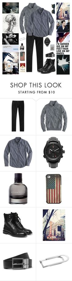 """`` I didn't come for a fight but I will fight 'til the end"" by lavalampsky ❤ liked on Polyvore featuring Gucci, J.Crew, ADAM, Kingsman, Bottega Veneta, Alexander McQueen, Dolce&Gabbana, Tateossian and Ray-Ban"