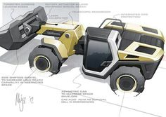 The telescopic loader of the future from #LiuGong. (From @Diggerdraw)
