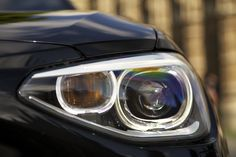 Headlight of the BMW 1 Series. Bmw New Cars, Bmw I, Bmw 1 Series, Vroom Vroom, F21, Cars And Motorcycles, Autos