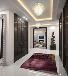 Парящий натяжной потолок: особенности конструкций и 80+ ультрасовременных реализаций для вашего дома http://happymodern.ru/paryashhij-potolok-natyazhnoj-foto/ Парящий натяжной потолок в интерьере коридора