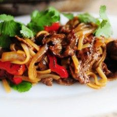 Beef with Peppers Stir Fry from Pioneer Woman