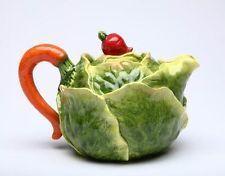majolica  luneville   vegitable  ceramic | Ceramic Fruit and Veg