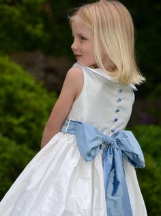 Piped Matilda | Nicki Macfarlane Dress for Salome (Senior Flower Girl)