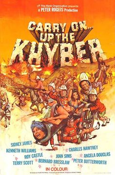 Carry On... Up the Khyber (1968)- grew up on these films. Hilarious!