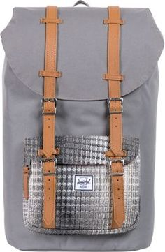 Herschel Supply Co. Little America Knit Grey - #backpacks #style #backtoschool #herschelbackpacks #college #collegebackpacks #campusbackpacks