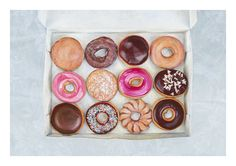 Krispy Kreme dozen. Limited edition giclée print, A2. - saw this on Oh Joy and fell in love. Perfect for the kitchen or dining area. Except we'd see it everyday and always want donuts.