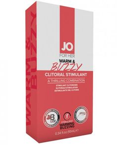 JO Warm and Buzzy Clitoral Stimulant if formulated to provide not one, but two unique sensations. Enjoy a mild tingle that transitions into a warming sensations and peaks at a thrilling vibrating/buzzing. Directions: Apply a small amount to the clitoris. Sensation will begin in approximately 3-5 minutes. Effects can last up to 45 minutes. Reapply as desired or needed. Warning: If irritation or discomfort occurs, discontinue use and consult a physician. Keep out of reach of children and pets.