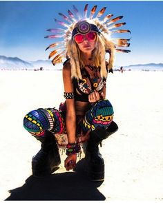 Burning man in Nevada. I will go to this one day!!!!
