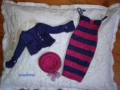 COMPLETE HANDKNITTED OUTFIT FOR FASHION DOLLS AS TONNER DOLLS | Flickr - Photo Sharing!