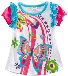 Cheap children t-shirt, Buy Quality kids t-shirt directly from China t-shirts for girls Suppliers: Girl T Shirt Retail Kid t-shirt Children Clothing Butterfly Short Sleeve t-shirts Owl Children's T-shirts for Girls MIX Kids Outfits Girls, Toddler Girl Outfits, Shirts For Girls, Kids Girls, Baby Girls, Girls Tees, Girl Sleeves, Girls Blouse, Short Girls