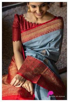 Sari Blouse, New Saree Blouse Designs, Blouse Designs High Neck, Simple Blouse Designs, Stylish Blouse Design, Bridal Blouse Designs, Indian Blouse Designs, Latest Blouse Neck Designs, Brocade Blouse Designs