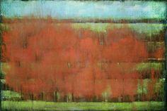 Kathleen Dunn, The Mississippi 2012, Pastel on paper