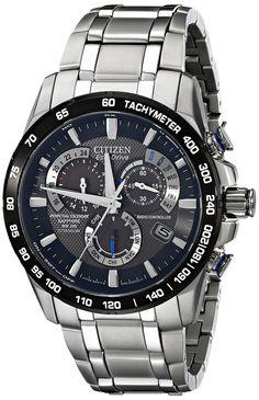 Citizen Eco-Drive Men's AT4010-50E Titanium Perpetual Chrono A-T Watch