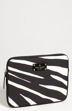 Sexu kate spade new york 'zebra' iPad sleeve available at Nordstrom