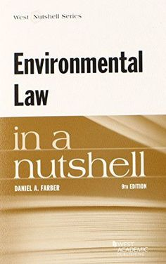 Environmental Law in a Nutshell (Nutshells)