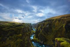Fjaðrárgljúfur, The Most Beautiful Canyon in the World - Southeast Iceland. - Photo: gonzaloespinoza
