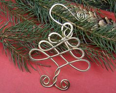 Celtic Tree Christmas Ornament  Holiday by nicholasandfelice, $ 16.00