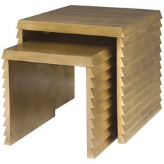 Bernhardt Jet Set Nesting Tables