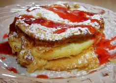 Pannu Kakku Finnish Oven Pancake) Recipe: pancake love without standing over the stove with a spatula all morning.