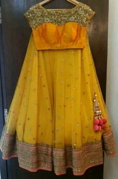 Such a beautiful Lehenga. ❤