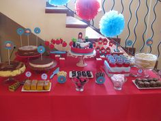 Little Red Riding Hood Party Table