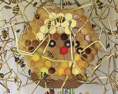 """The Beekeeper"" [detail] by Kelly Heaton"