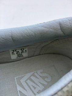 7a2c02b059 Vans White Leather slip on Size Men s 8 Women s 9.5 for Sale in Gardena