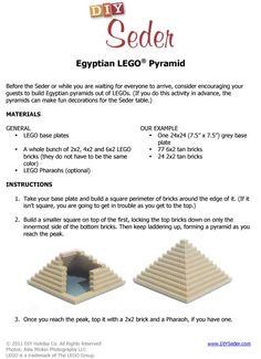 Lego pyramid.