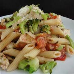 """Chicken and Broccoli Pasta 