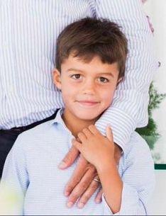 Alphonse de Bourbon, 6 ans, né en 2010, Fils de Louis de Bourbon (prétendant légitimiste au trône de France)