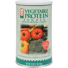 No Fat, No Sugar, and No Carbohydrates Protein with Balanced Amino Acids MLO Vegetable Protein with an Amino Acid Score (PDCAAS) of At last, an all vegetable protein supplement with a superior amino acid balance. Different Vegetables, All Vegetables, Vegetable Protein Powder, Natural Protein Powder, Vegan Protein Sources, Watermelon Nutrition Facts, Broccoli Nutrition, Protein Power, Protein Supplements