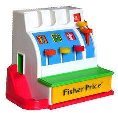 Leikkikassakone (Image: Jukka Nortunen) Fisher Price, Arcade Games, Image